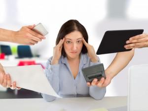 Stress äußert sich auf vielfältige Weise.