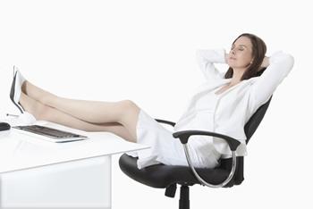 Kurze Entspannungspause erleichtert Ihnen die Hektik
