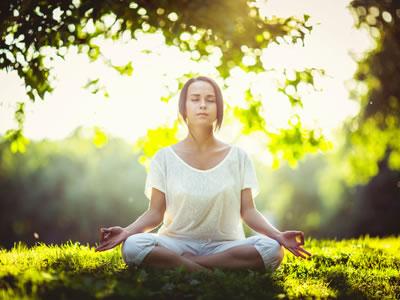 Yoga ist die ideale Möglichkeit, innere Ruhe zu finden.