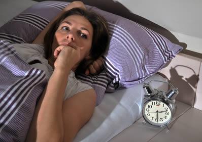 Anspannung raubt den Schlaf