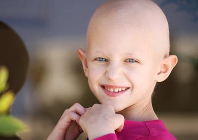 Krebskrankes Kind
