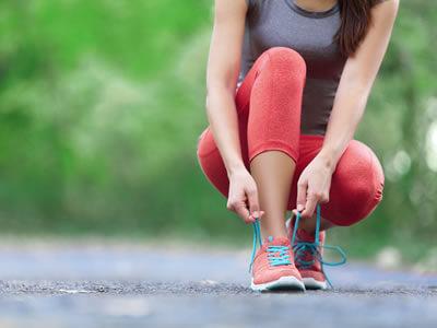 Sportlich Aktive haben ein erhöhtes Risiko, an Nagelpilz zu erkranken.